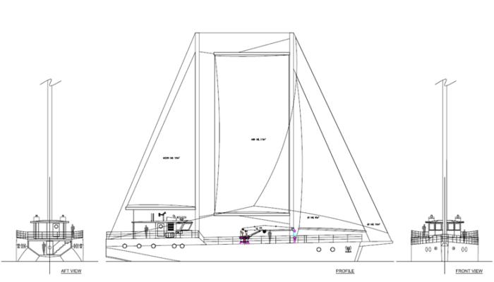 Preliminary General Arrangement Design of the Cerulean Vessel